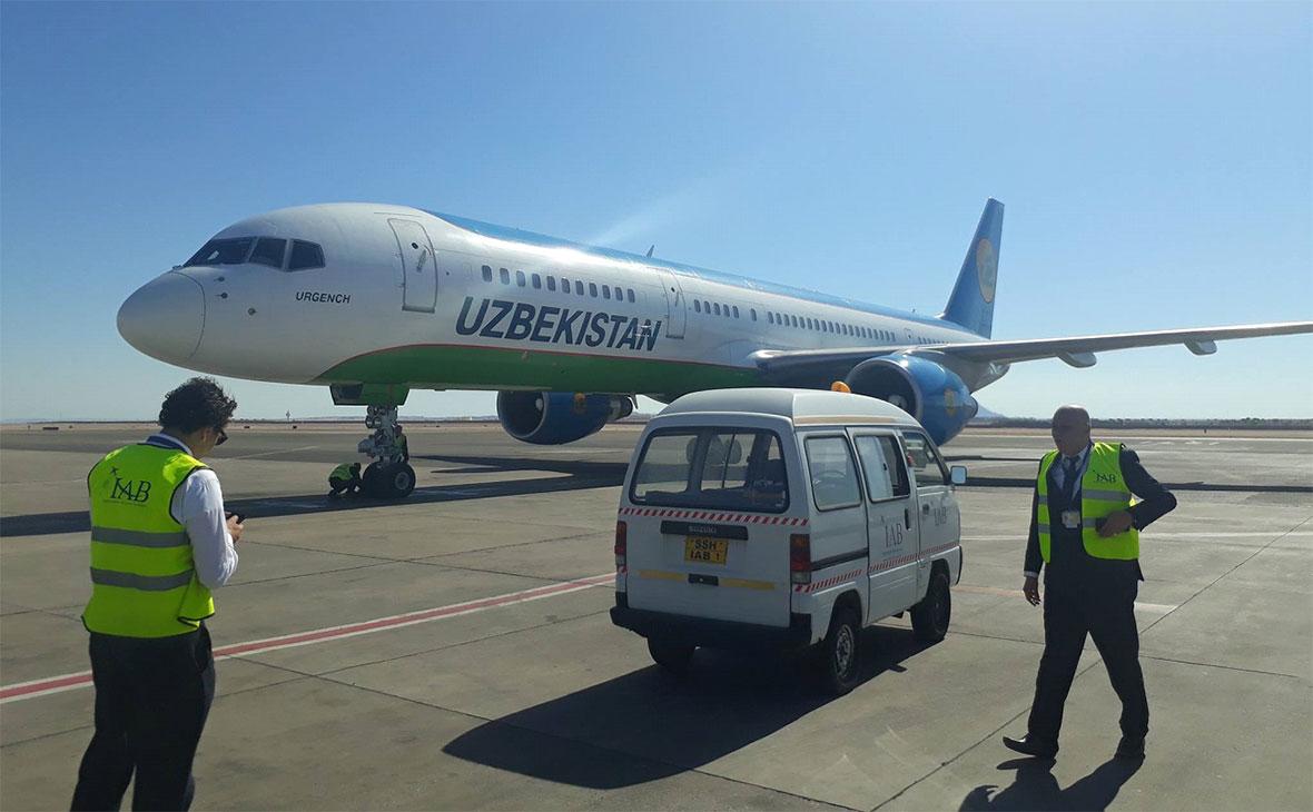 Uzbekistan Airways first flight